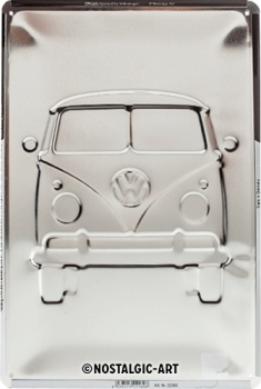 VW - Bulli - Good in Shape - Blechschild 30cm x 20cm